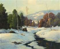 6: Robert William Wood, (American, 1889-1979), Winter S
