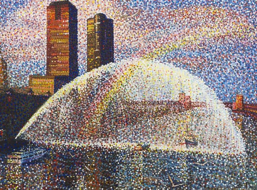 11: Tu Zhiwei, (Chinese, b. 1951), The Chicago River, 1