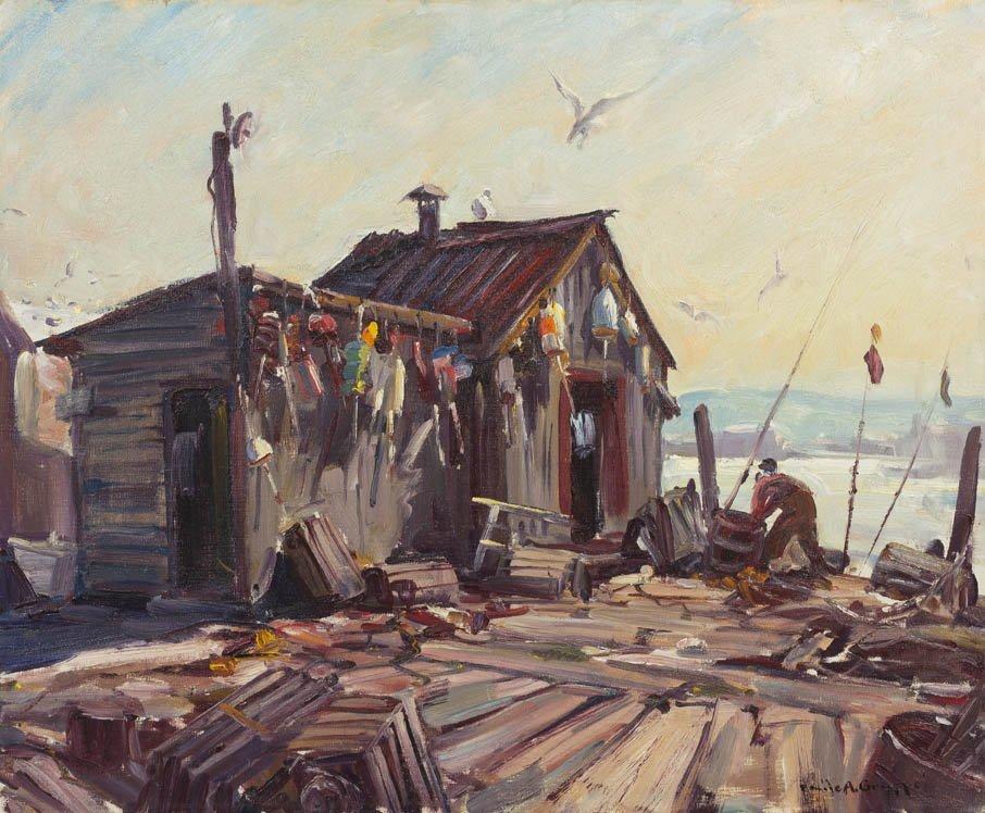 19: Emile Albert Gruppe, (American, 1896-1978), Lobster