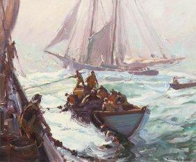 Emile Albert Gruppe, (American, 1896-1978), Bringin