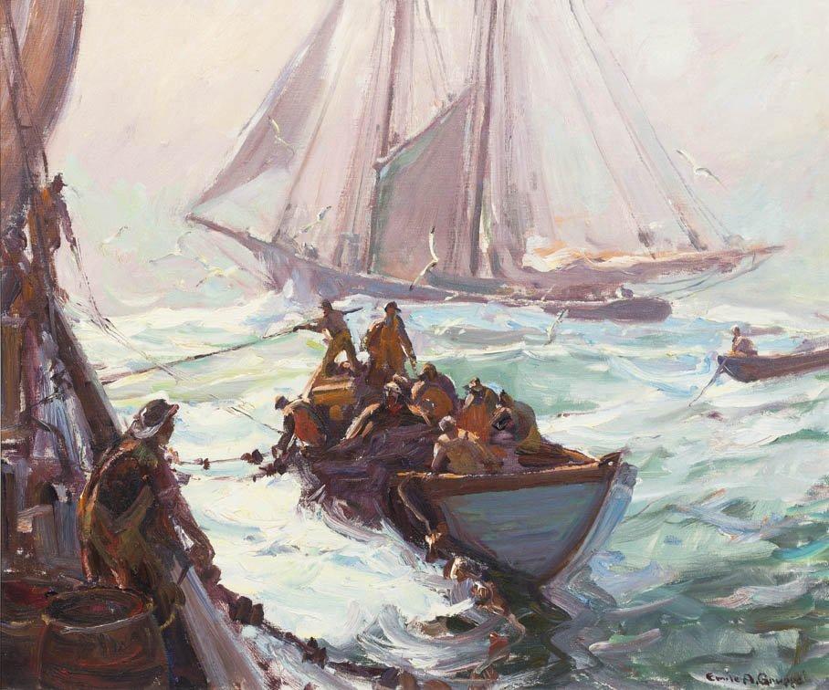 20: Emile Albert Gruppe, (American, 1896-1978), Bringin