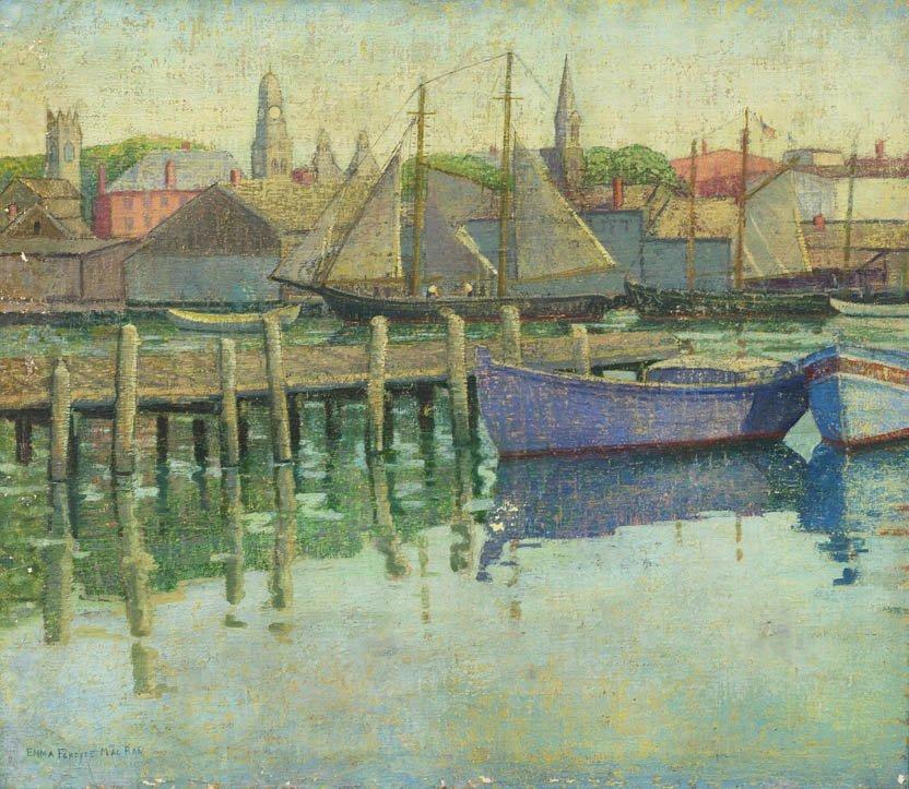25: Emma Fordyce MacRae, (American, 1887-1974), Sailboa