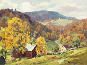 Leo B. Blake, (American, 1887-1976), Rolling Hills