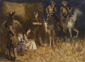 Gayle Porter Hoskins, (American, 1887-1962), Night