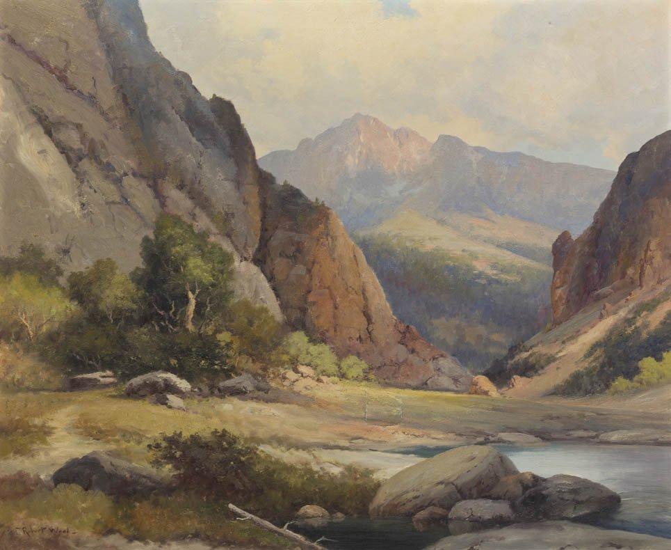 55: Robert William Wood, (American, 1889-1979), View Th