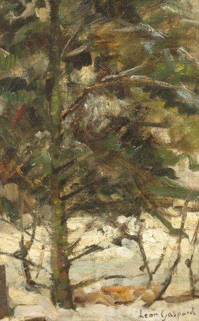 Leon Schulman Gaspard, (American/Russian, 1882-1964