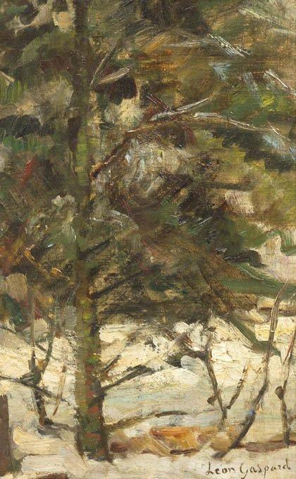64: Leon Schulman Gaspard, (American/Russian, 1882-1964
