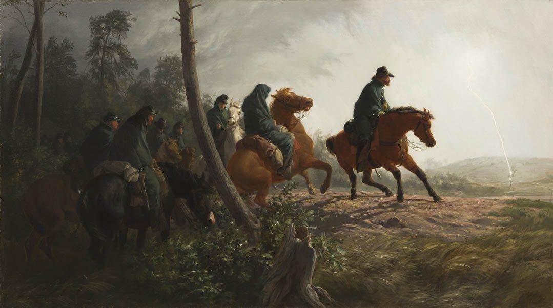 67: Johannes Adam Simon Oertel, (German/American, 1823-