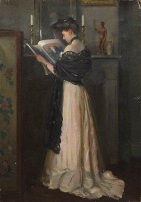 Henry R. Rittenberg, (American, 1879-1969), Portrai