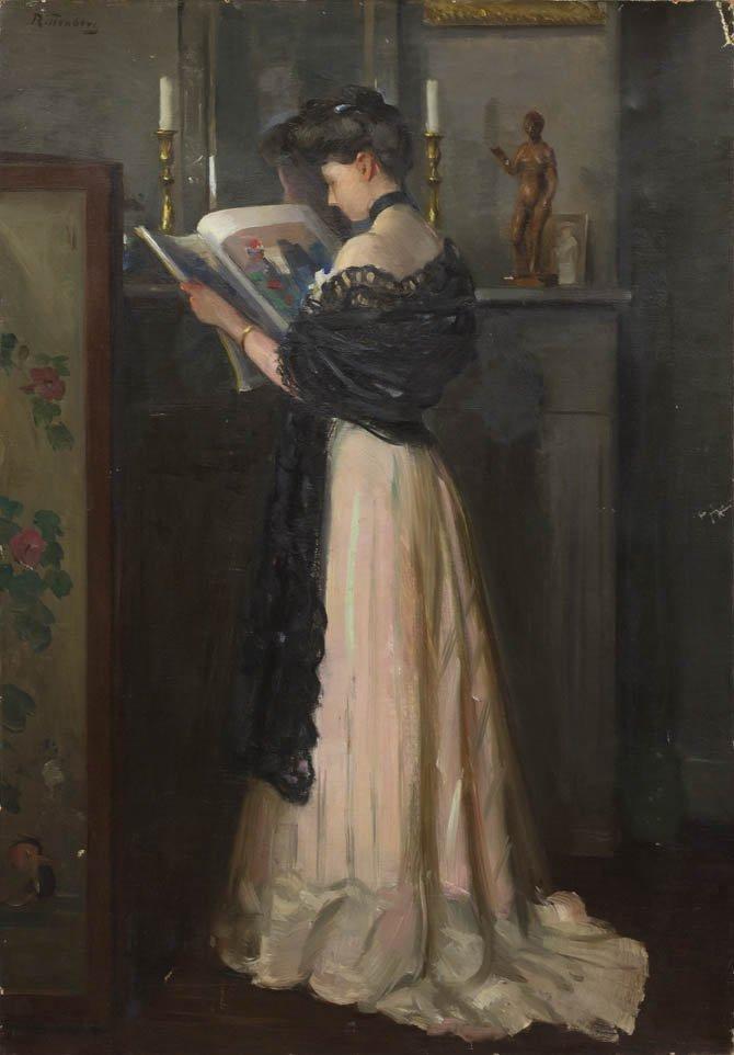 79: Henry R. Rittenberg, (American, 1879-1969), Portrai