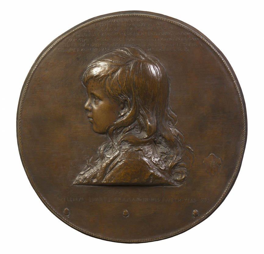81: Augustus Saint-Gaudens, (American, 1848-1926), Will