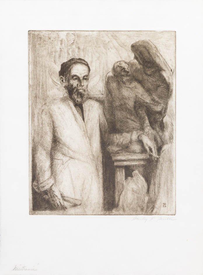 82: Ivan Mestrovic, (American, 1883-1962), St. John