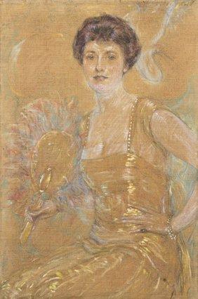 Robert Lewis Reid, (American, 1862-1929), Lady With