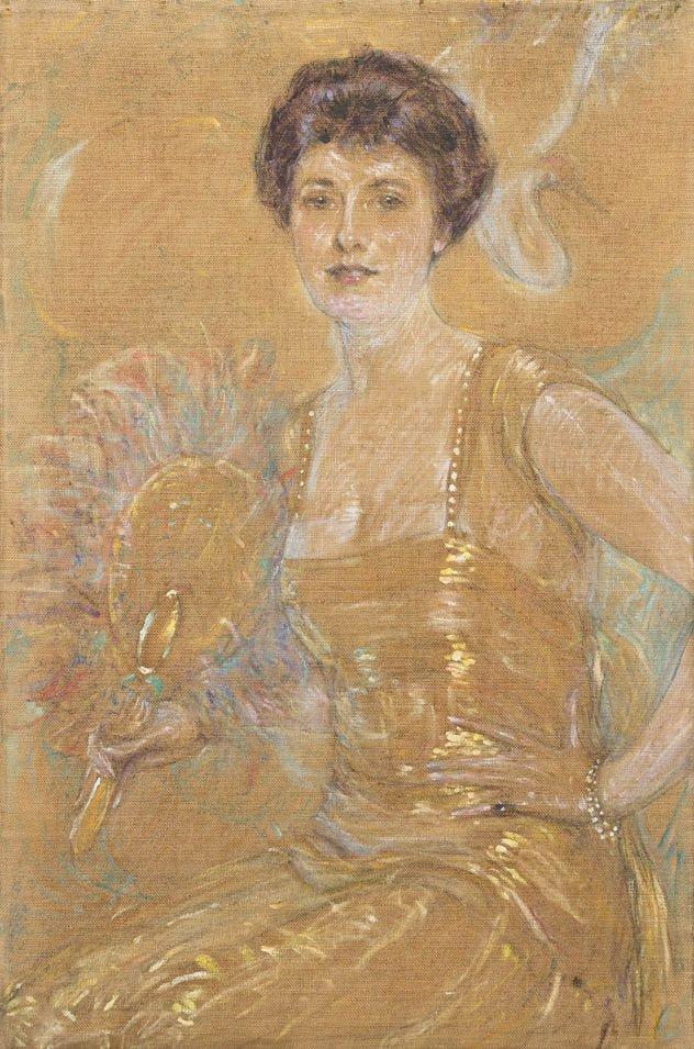 88: Robert Lewis Reid, (American, 1862-1929), Lady with