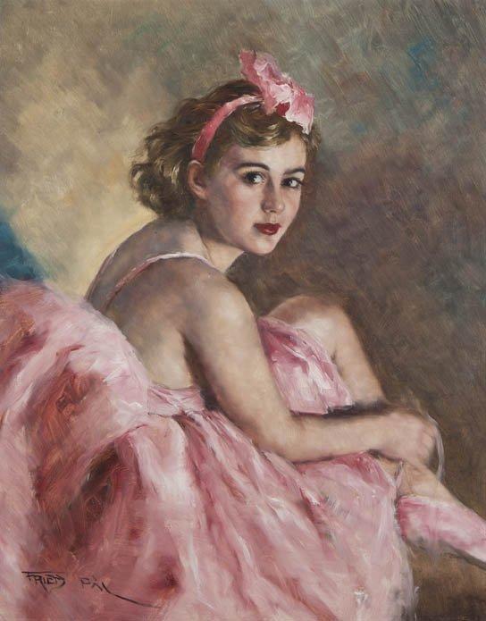 91: Pal Fried, (American/Hungarian, 1893-1976), Paulett