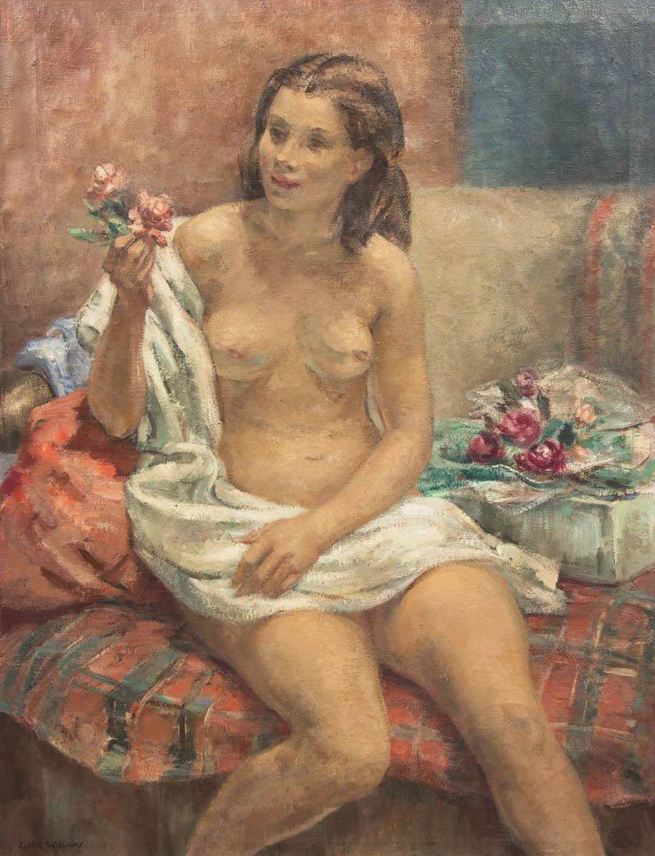 95: Esther Baldwin Williams, (American, 1907-1969), Nud