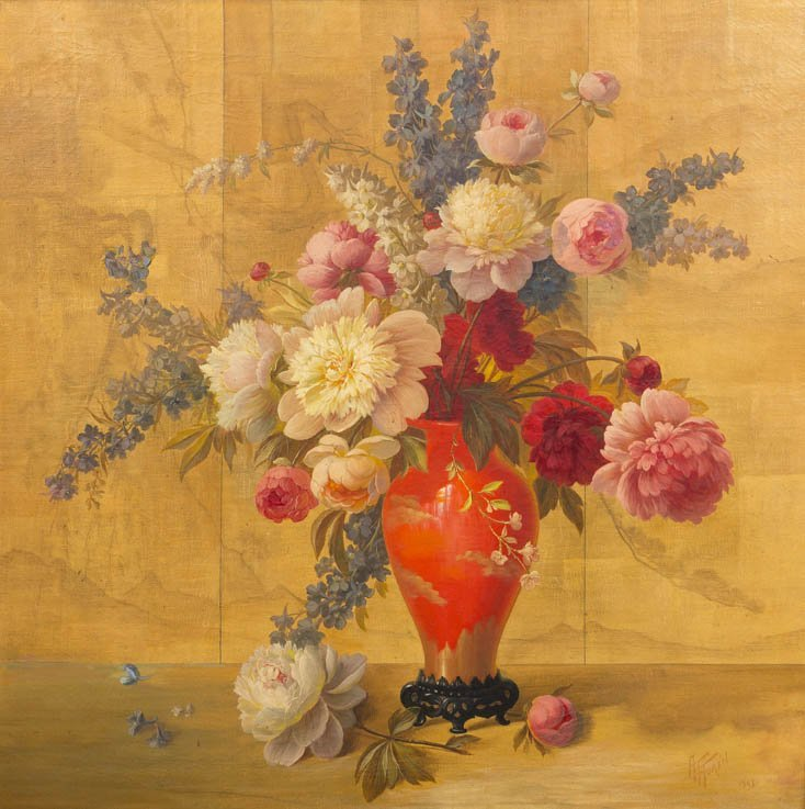 96: Alphonse T. Toran, (American, b. 1898), Still Life