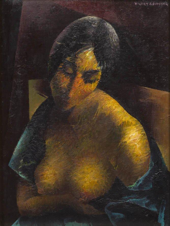 99: William Samuel Schwartz, (American, 1896-1977), Por