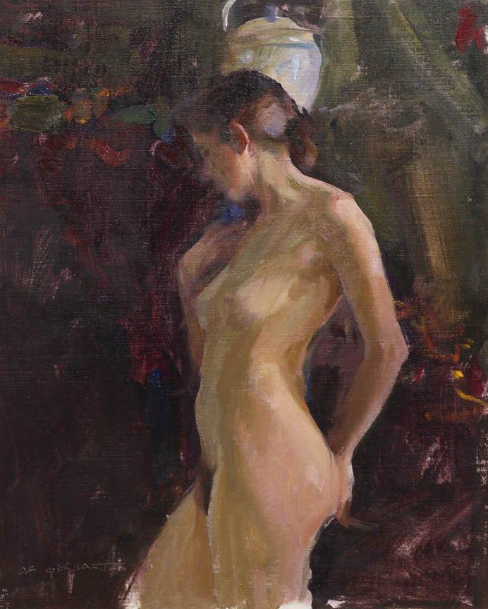 100: Dan Gerhartz, (American, b. 1965), Nude Study