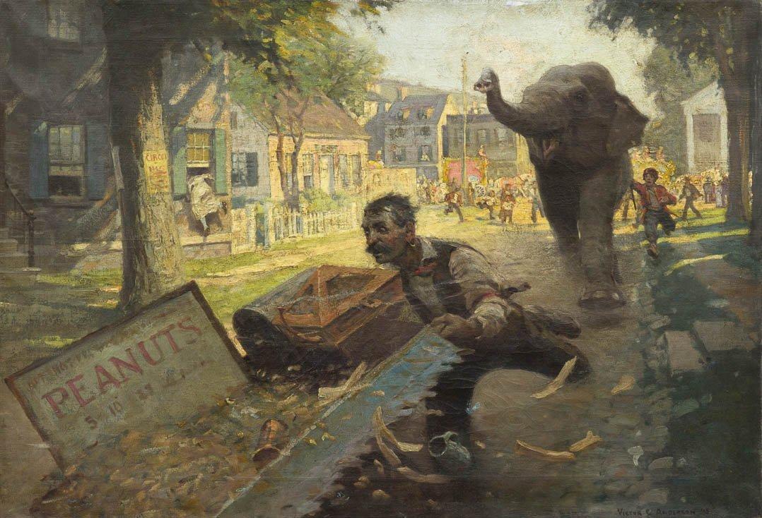 105: Victor Coleman Anderson, (American, 1882-1973), Pe