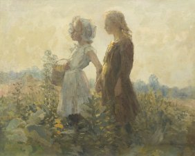 Adam Emery Albright, (American, 1862-1957), Childr