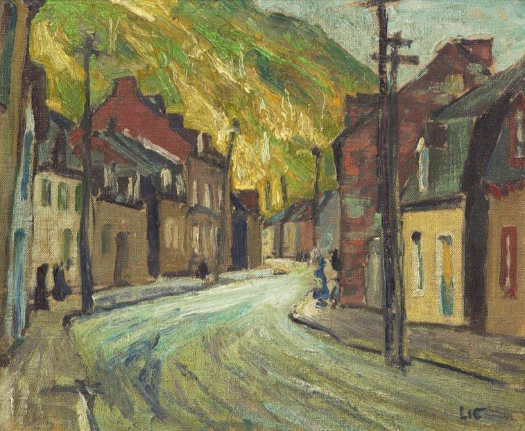 111: Jonas Lie, (American/Norwegian, 1880-1940), Villag