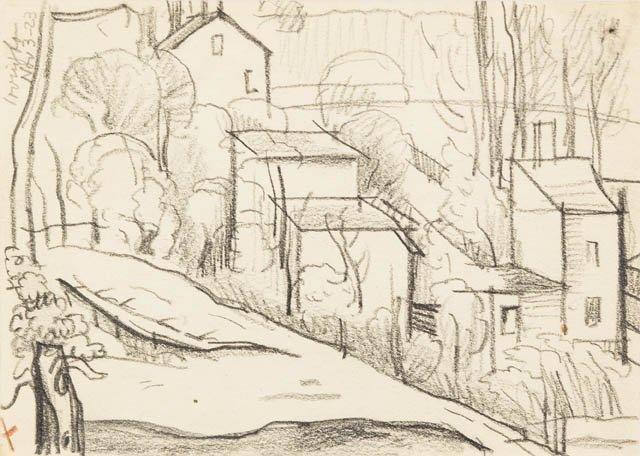 125: Oscar Florianus Bluemner, (American, 1867-1938), I