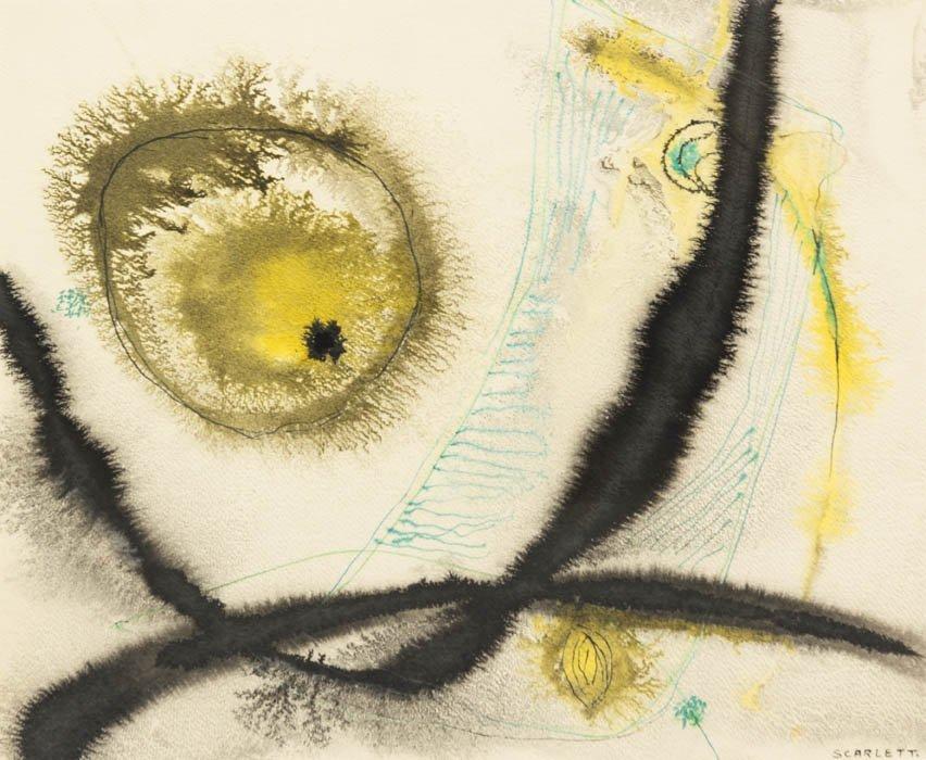 169: Rolph Scarlett, (American, 1891-1984), Green Lines