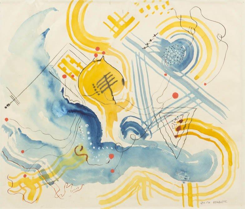 170: Rolph Scarlett, (American, 1891-1984), Untitled, c