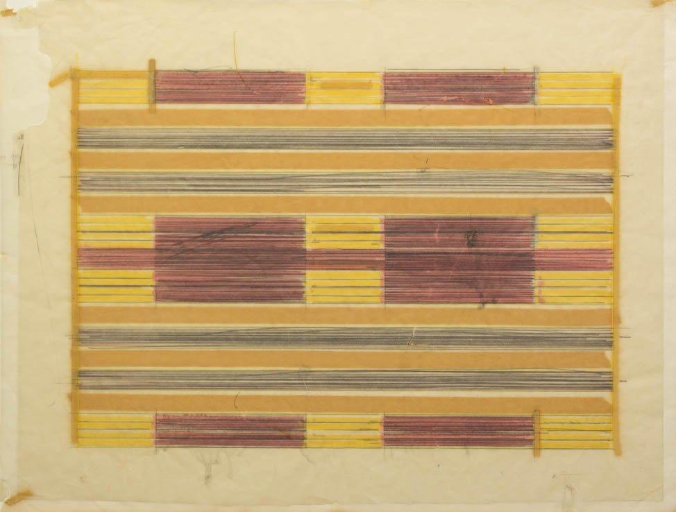 177: Ed Moses, (American, b. 1926), Untitled No. 6, 197