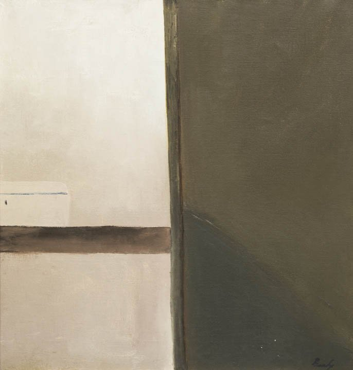182: Charles Brady, (Irish, 1926-1997), Box on a Shelf,