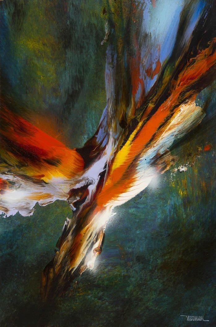 187: Leonardo Nierman, (Mexican, b. 1932), Bird of Para
