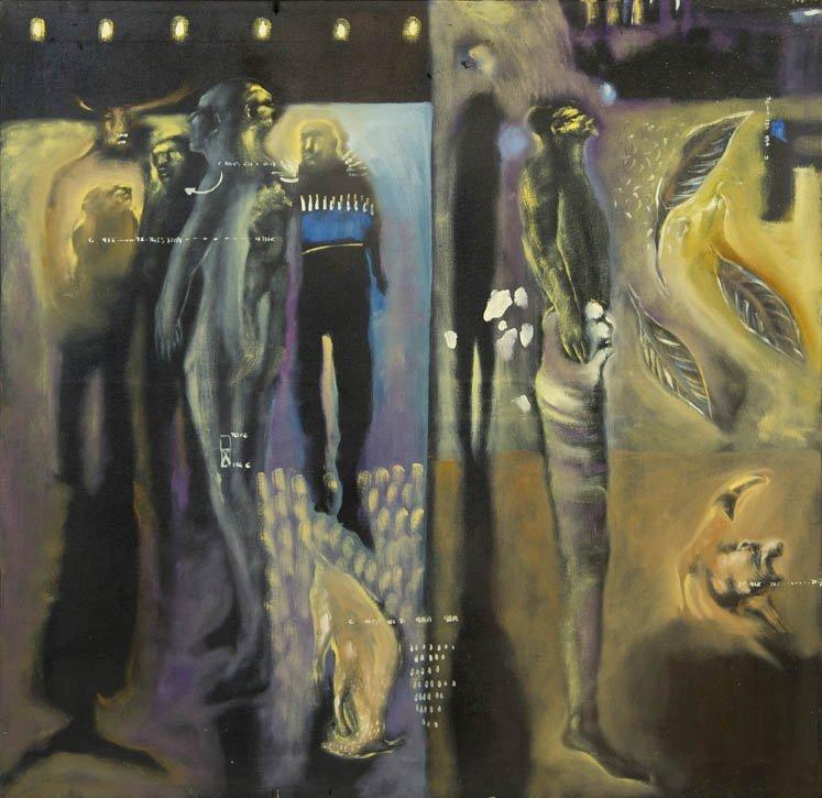 192: Soly Cisse, (Senegalese, b. 1969), Foret d'Or