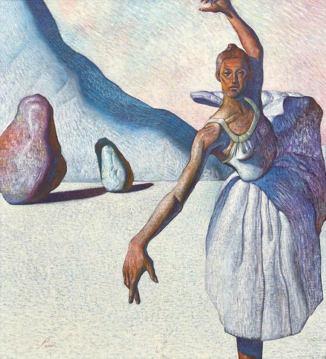 200: Miguel Padura, (Cuban, b. 1957), Ballerina