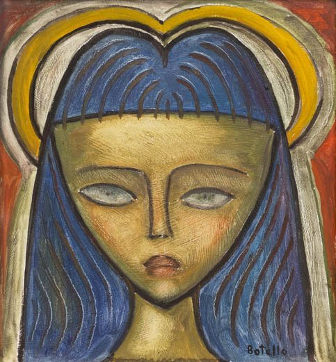 201: Angel Botello, (Spanish-Puerto Rican, 1913-1986),