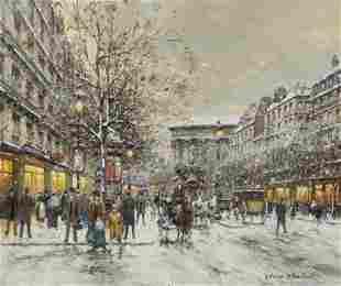 241: Antoine Blanchard, (French, 1910-1988), Boulevard
