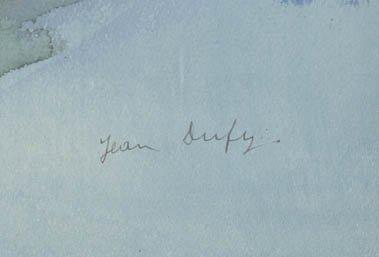 270: Jean Dufy, (French, 1877-1953), Parisian Street Sc - 2