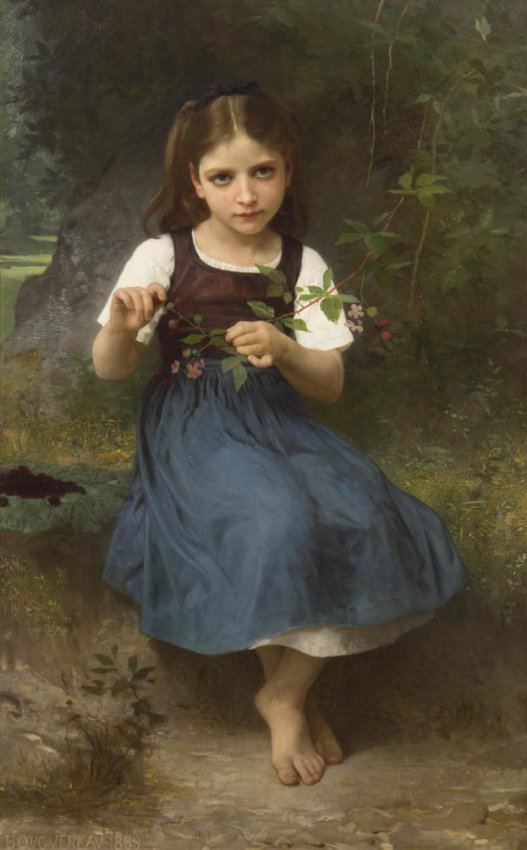 283: William Adolphe Bouguereau, (French, 1825-1905), L