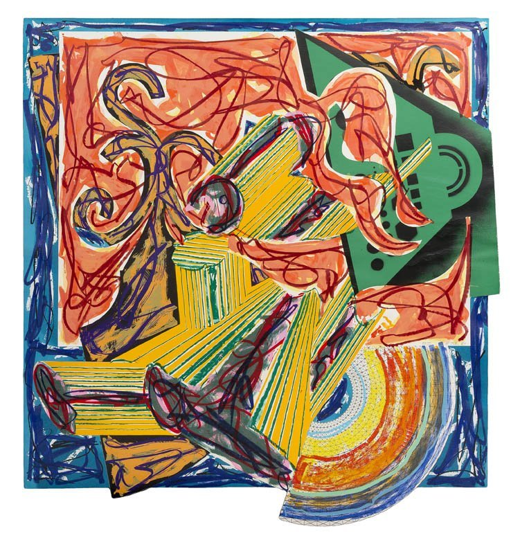 1016: Frank Stella, (American, b. 1936), The Butcher Ca
