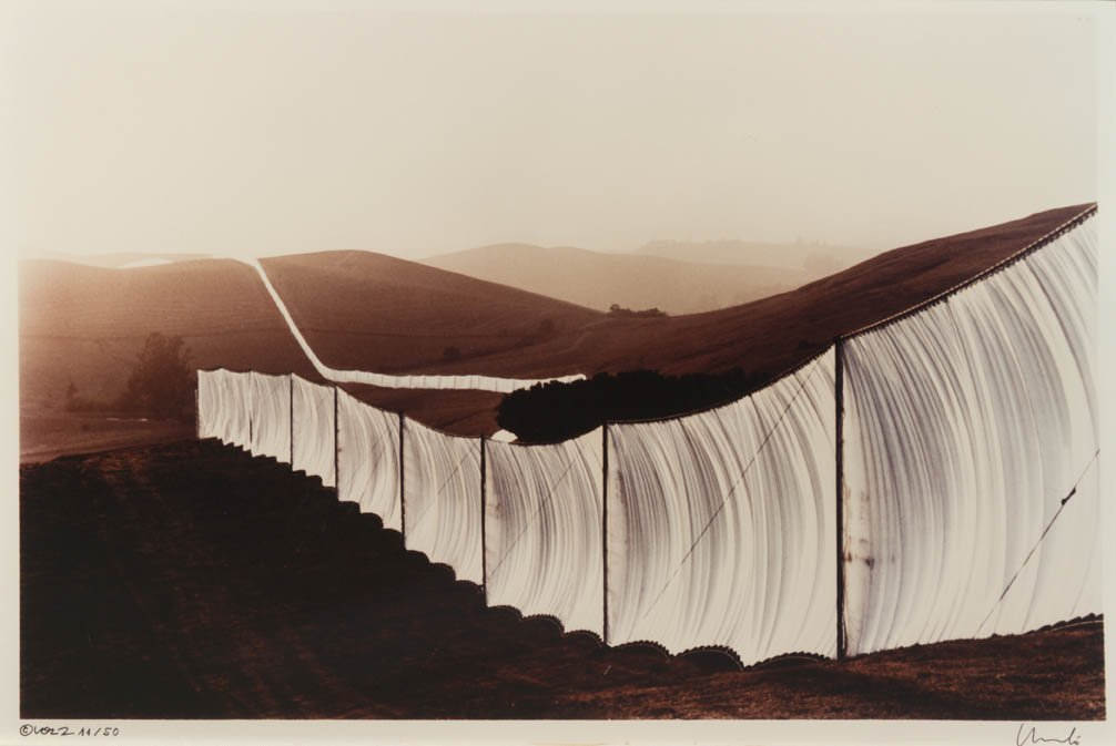 1033: Christo and Jeanne-Claude, (American, b. 1935), R - 4
