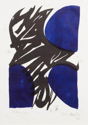 Edo Murtic, (Croatian, 1921-2004), Miro, 1970