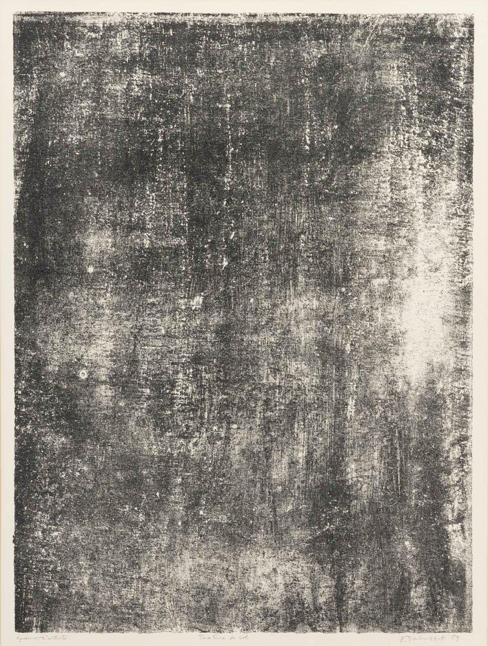 1054: Jean Dubuffet, (French, 1901-1985), Texture de So