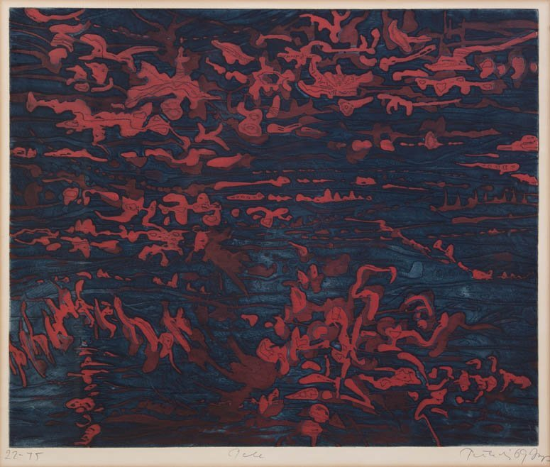 1055: Gabor F. Peterdi, (American, 1915-2001), Pele, 19
