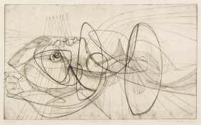 Stanley William Hayter, (British, 1901-1988), Dea