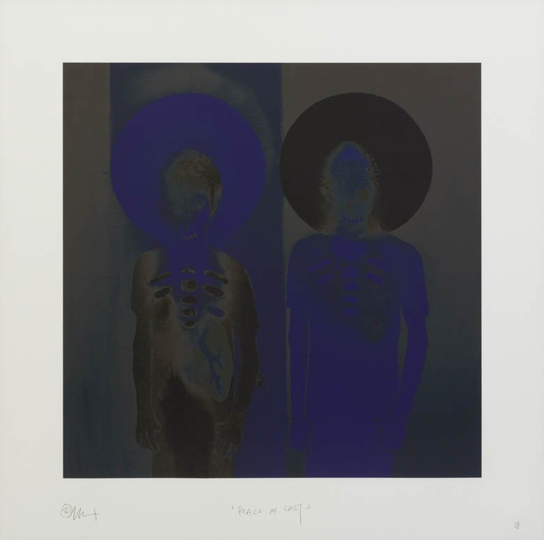 1060: 3D, (20th/21st century), Peace At Last (Blue), 20