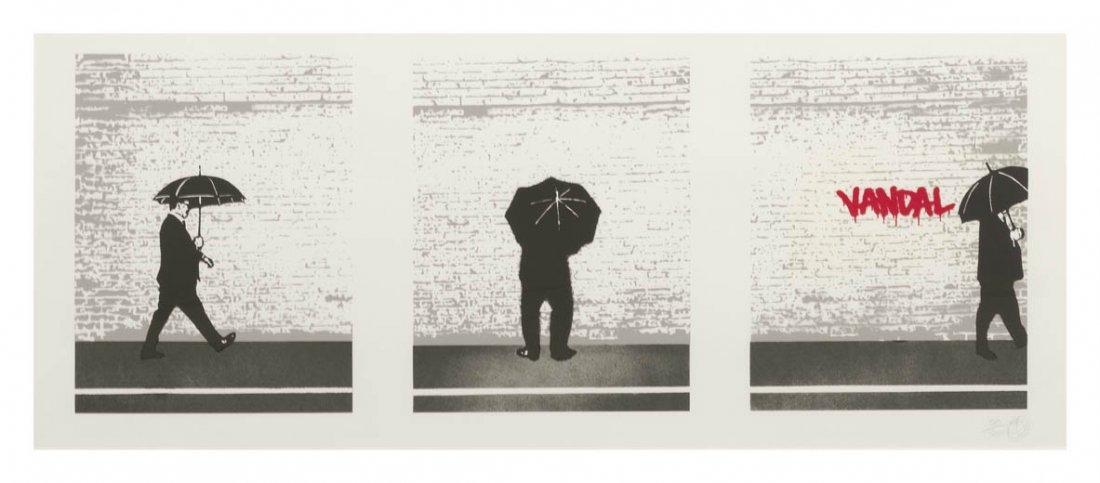 1061: Nick Walker, (British, b. 1969), Vandal Triptych,