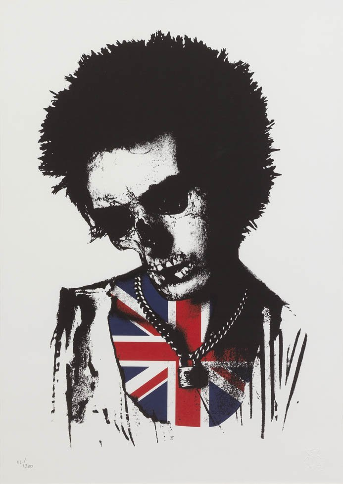 1062: Paul Insect, (British, b. 1971), Sid Vicious Dead