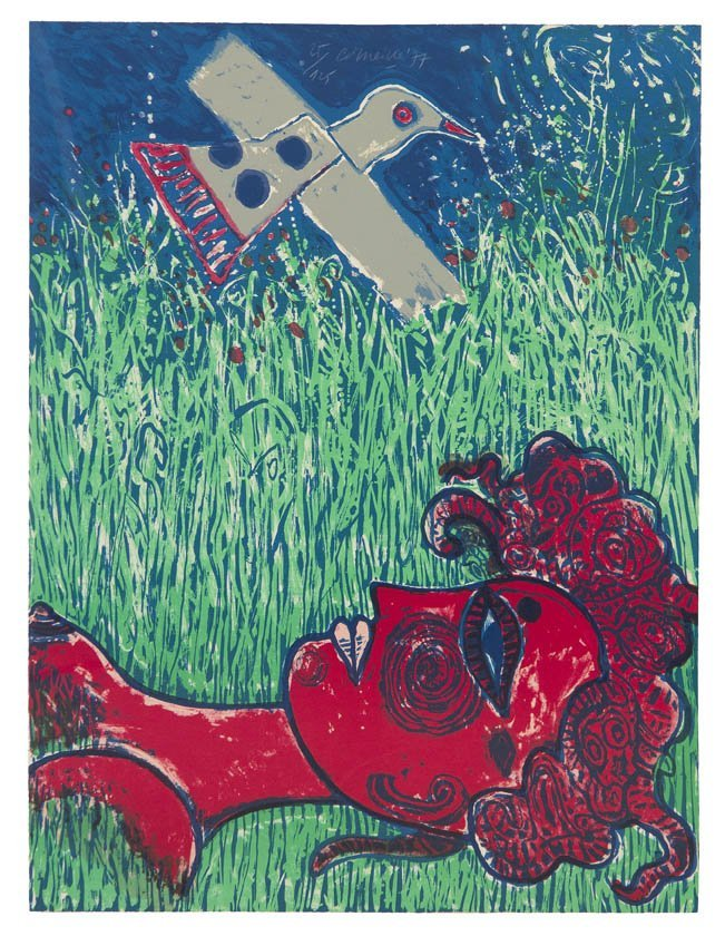 1067: Corneille, (Dutch, 1922-2010), Enchantments de l'