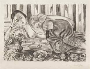 1102: Henri Matisse, (French, 1869-1954), Odalisque ? l