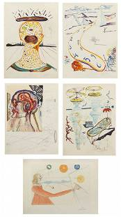 1117: Salvador Dali, (Spanish, 1904-1989), Imagination